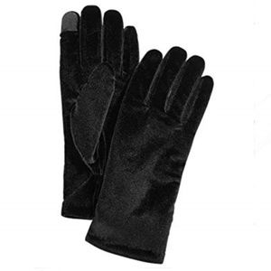 Cejon Velvet Tech Insulated Winter Gloves Black
